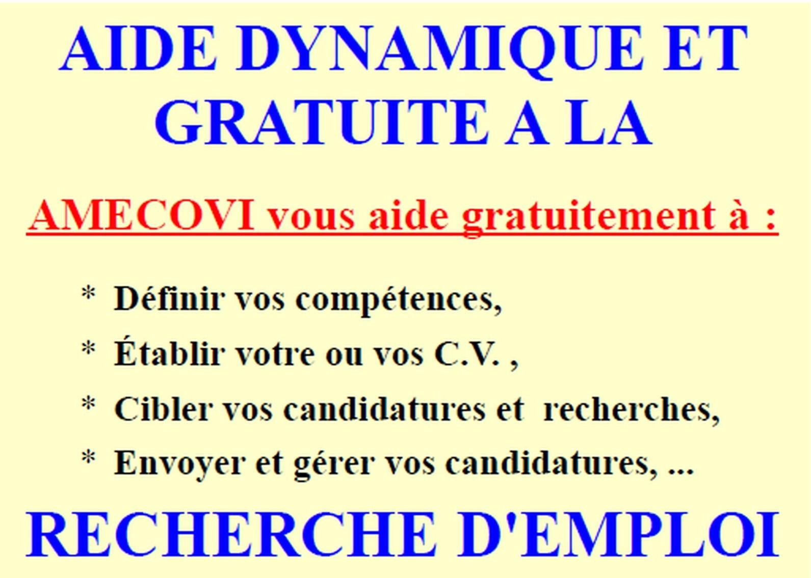 AIDE A LA RECHERCHE D'EMPLOI